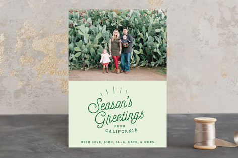 Season's Greetings From.. Holiday Postcards