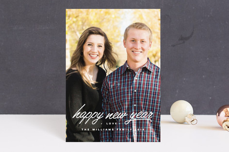 Underline the New Year Holiday Postcards