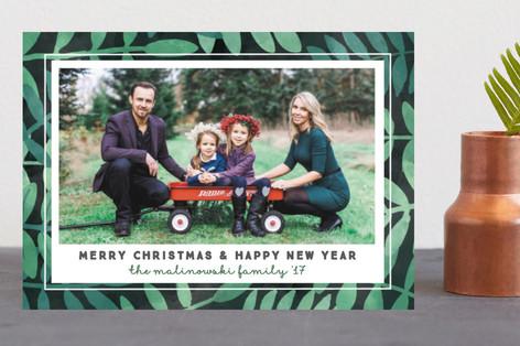 Botanical Holiday Postcards