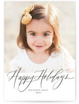 Happy Holidays Pencil by Elsa Duncan