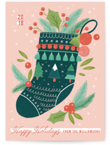 Merry Stocking by Paper Raven Co.