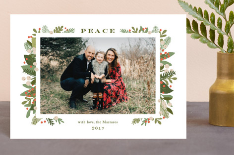 laurel of pines Holiday Postcards