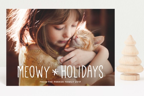 Merry Kittymas Holiday Postcards