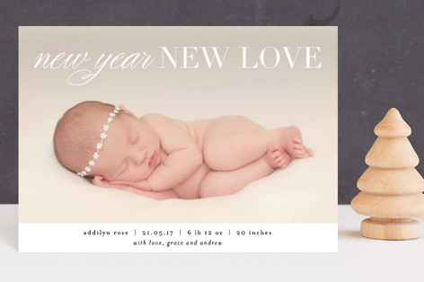 New Year New Love Holiday Postcards