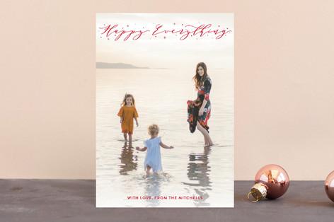 Christmas Sparkles Holiday Postcards