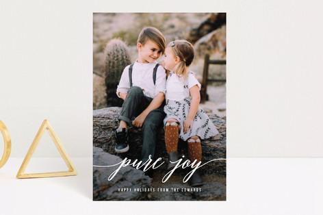 Purely Joyful Holiday Postcards