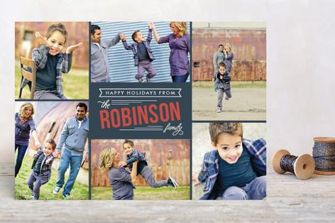 Bold Greeting Holiday Postcards