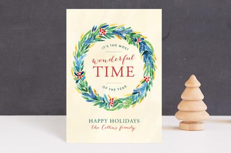 Wonderful Time Holiday Postcards