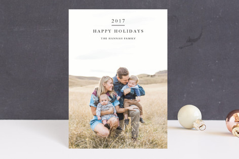 New Year Gratitude Holiday Postcards