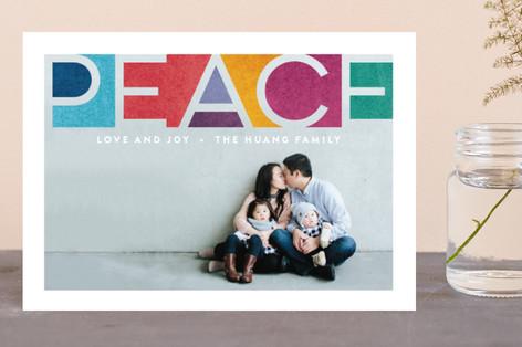 Prismatic Faith Holiday Postcards
