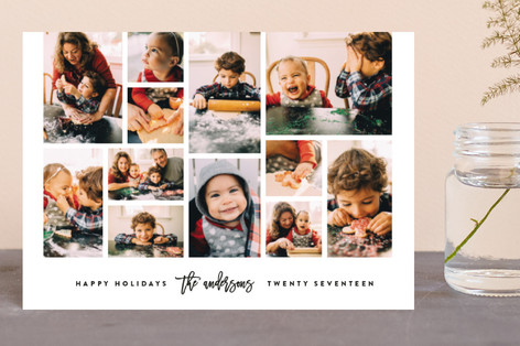 Collage Holiday Postcards