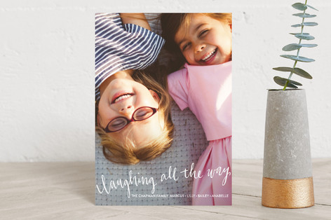 Laughing All the Way Holiday Postcards