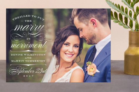 Marry Merriment Holiday Postcards