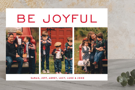 be merry blocks Holiday Postcards