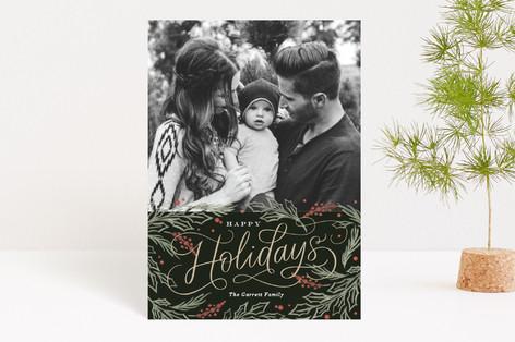 Embellished Pines Holiday Postcards