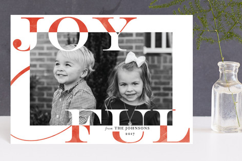 Joy Swash Ful Holiday Postcards