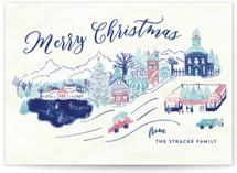 Christmas Village by Shiny Penny Studio