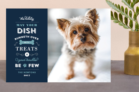 Four Legged Friend Holiday Postcards