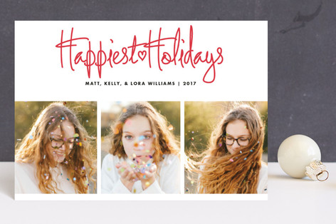 Funky Quartet Holiday Postcards
