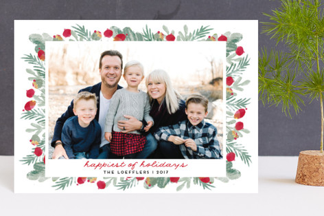 merry bricolage Holiday Postcards