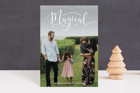 Make the Holidays Magical Holiday Postcards