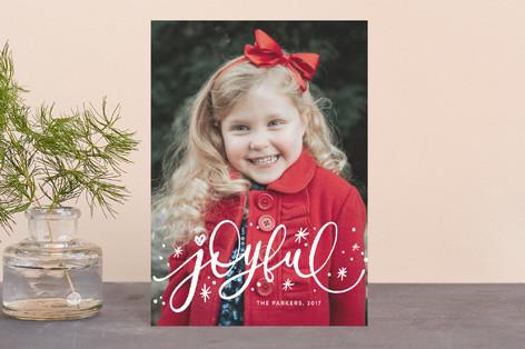 Whimsically Joyful Holiday Postcards