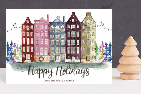 A Holiday Abroad Holiday Postcards