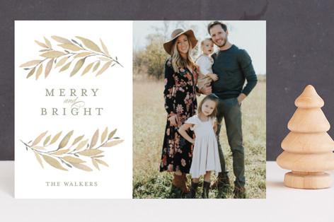 Simple Laurels Holiday Postcards