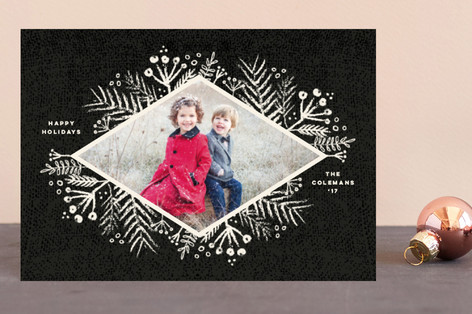Rustic Berries Holiday Postcards