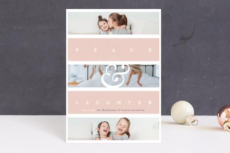 Family Faith Holiday Postcards