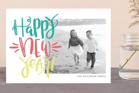 Highlighter Holiday Postcards
