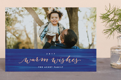 Four Warm Wishes Holiday Postcards