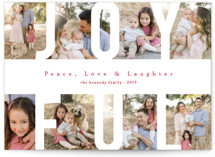 Peace Love & Laughter Holiday Postcards