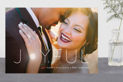 Joyful & Glowing Holiday Postcards