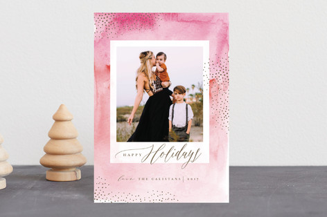 SnowBurst Holiday Postcards