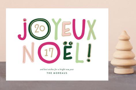 Bright Noel Holiday Postcards
