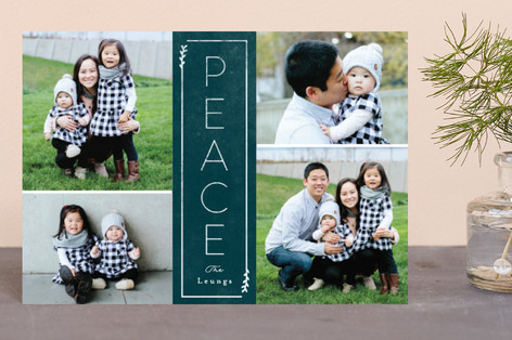 Framed Peace Holiday Postcards