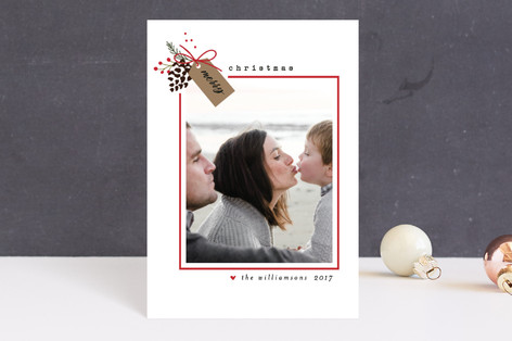 Holiday Merry Tag Holiday Postcards