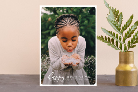 Thoughtful Holiday Postcards