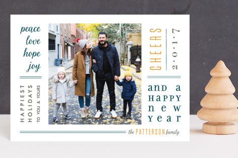 Newsprint Holiday Postcards