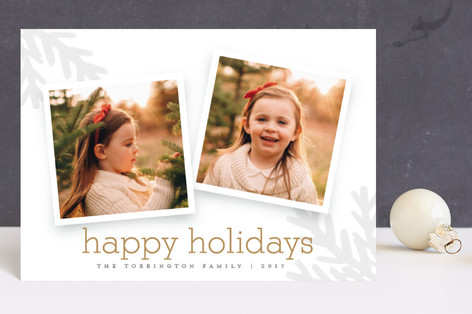 Merry Branches Holiday Postcards