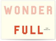Wonder Full