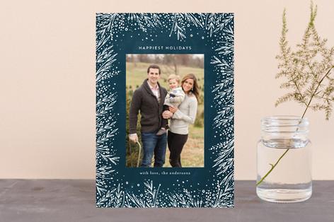 Filigree Frame Holiday Postcards