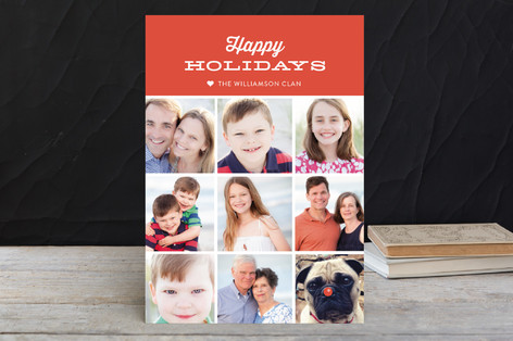 Modern Tag Holiday Postcards