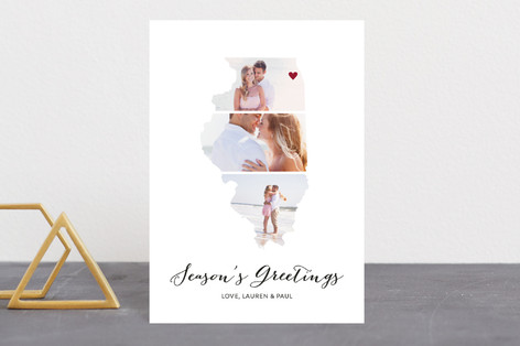 Love Location Holiday Postcards