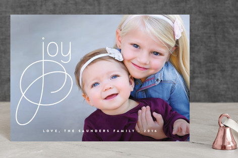 Simply Joyous Holiday Postcards