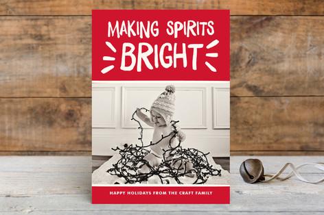 Spirited Holiday Holiday Postcards