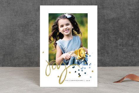Confetti Joy Holiday Postcards