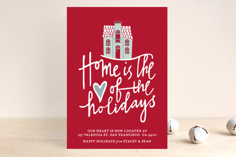 Home is the Heart Holiday Postcards