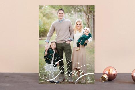 Elegant Peace Holiday Postcards